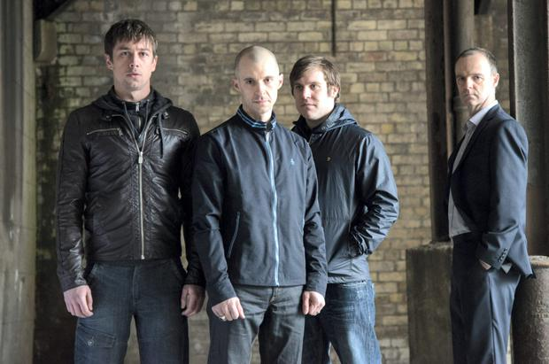 Peter Coonan and Tom Vaughan-Lawlor in Love/Hate