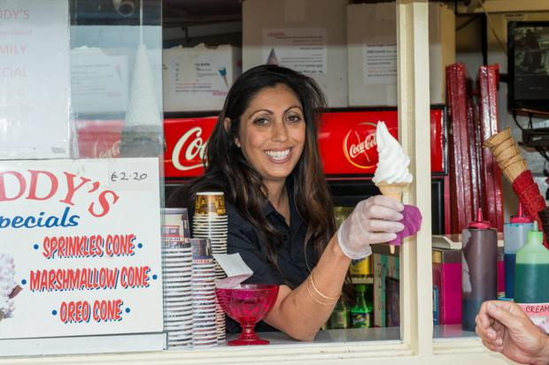 Yasmin Khan, Teddy's Ice Cream, Sandycove