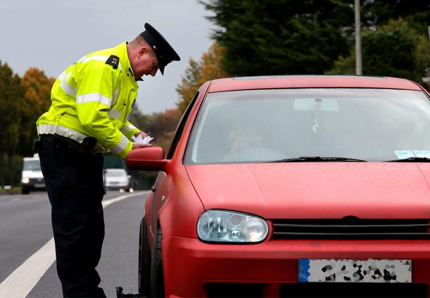 A major Garda clampdown on banned drivers is in force