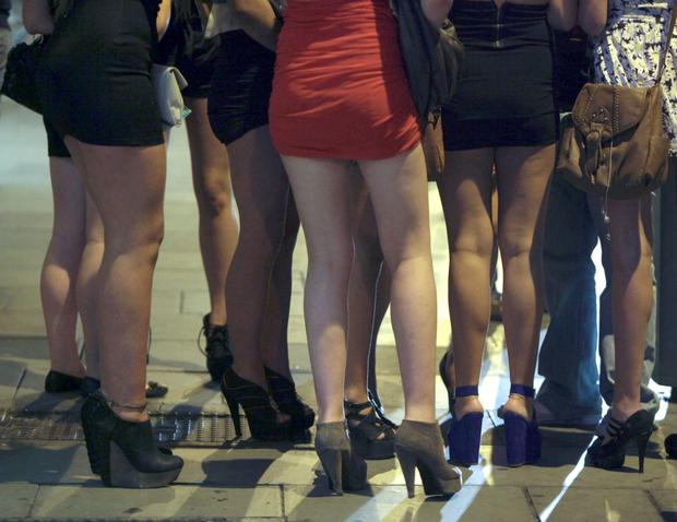 Leaving Cert students queue outside a Dublin nightclub