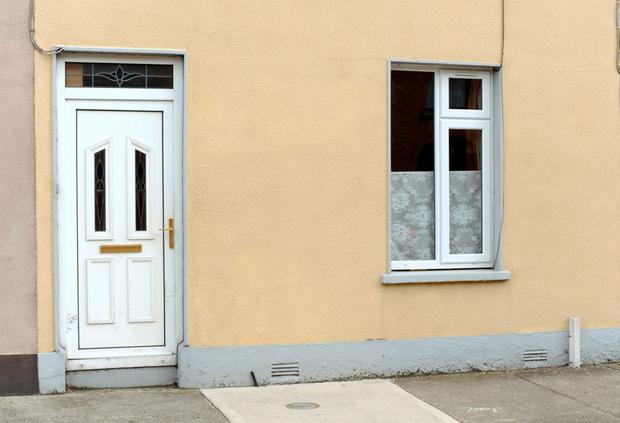The window where Ciara is believed to have left the house