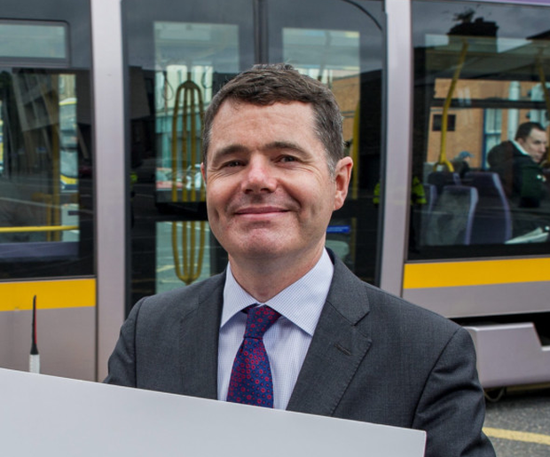 Transport Minister Paschal Donohoe now faces a Luas dispute