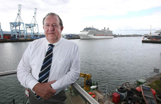 Dublin Port Harbour Master Captain David Dignam