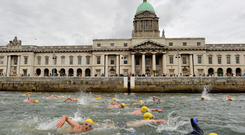 Competitors in the Liffey Swim could be at risk due to high levels of bacteria in the water