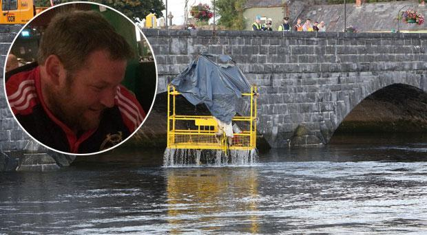 Tim 'TJ' O'Herlihy (36) was killed alongside co-worker Bryan Whelan (29) after a platform they were working on plunged into the river Shannon on Saturday.