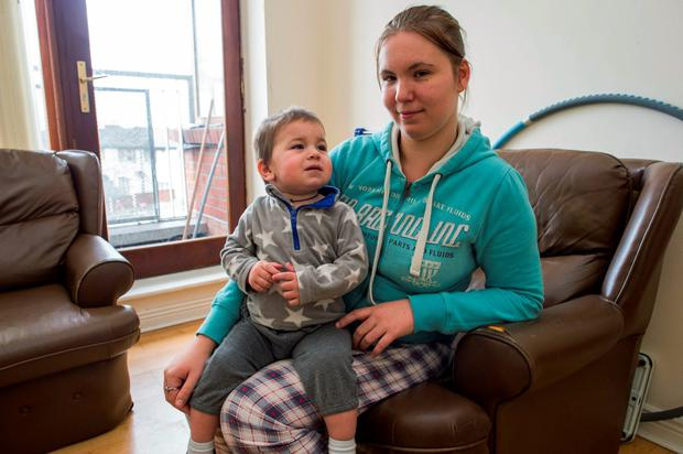 Inta and David Jamila have been 16 days without water and have to rely on council containers