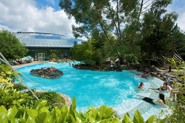 photo issued by Center Parcs of a Center Parcs resort as detailed proposals for the company's planned first resort in Ireland