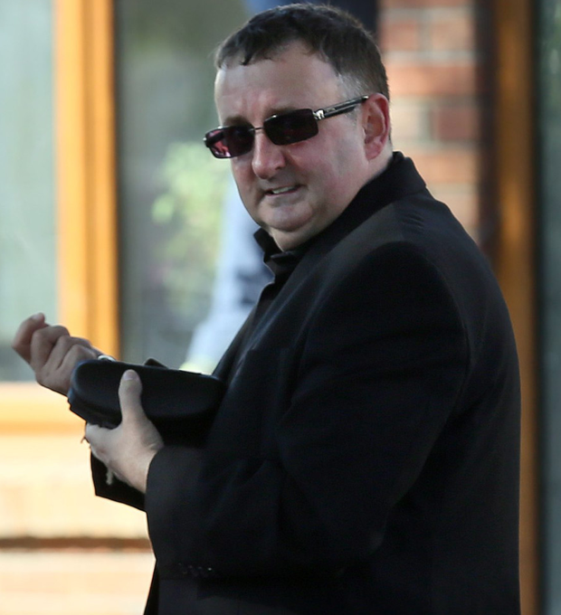 John Dillon (pictured) sent the abusive mails to Alan Shatter