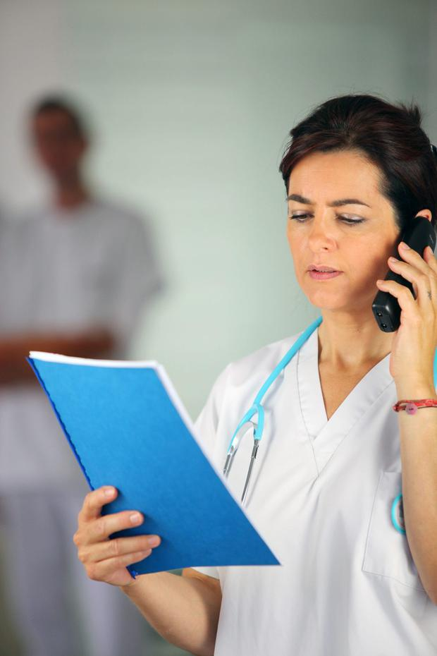 A survey said that 12-hour shifts or longer have become increasingly common for nurses in some countries in Europe (Stock image)