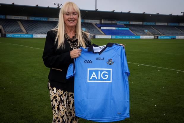Paula Lee, pictured at Parnell Park