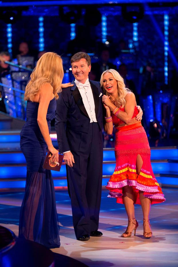 Daniel O'Donnell and his dance partner Kristina Rihanoff