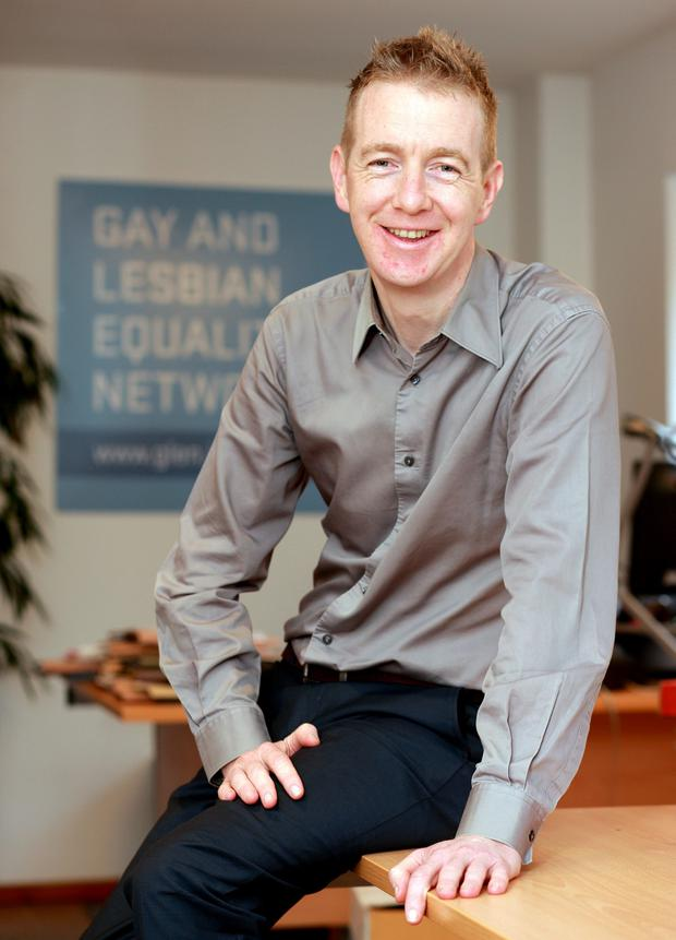 Tiernan Brady of the Irish Gay and Lesbian Equality Network