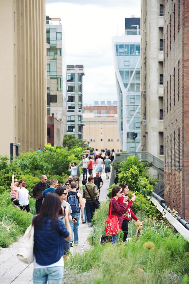 New York's High Line is the model for Cherrywood plaza