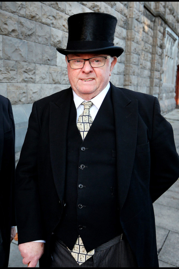 Justice Paul Carney officiated at over 50pc of murder trials since the 1990s