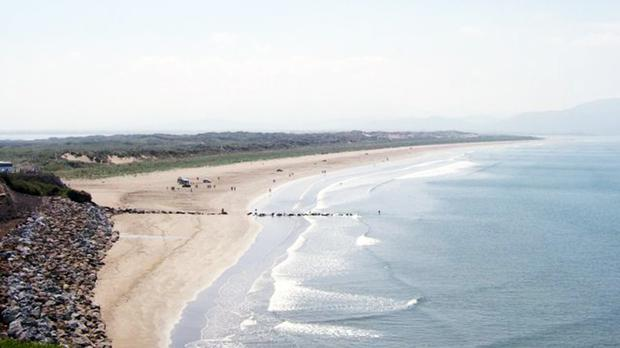 Inch Beach on the Dingle Peninsula in Co Kerry, where nuns Sr Paula Buckley and Sr Imelda Carew died