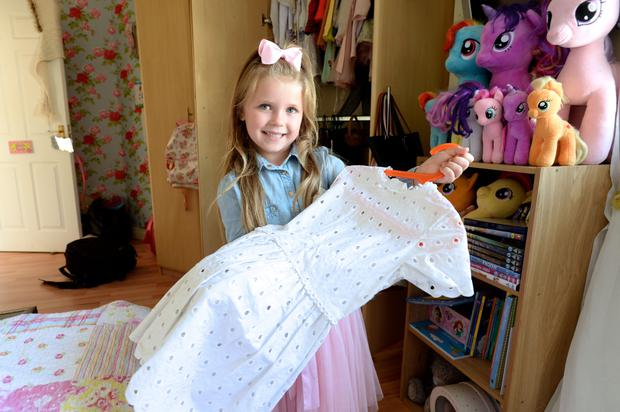 Instagram sensation Ella May Fitzsimons (5) from Swords who has 18,000 followers.
