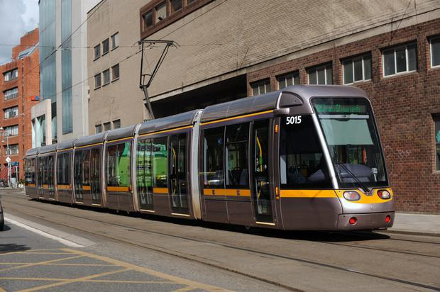Luas. File picture