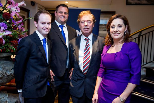 Cllr John Kennedy, Cllr Neale Richmond, Alan Shatter TD and Cllr Josepha Madigan at the Fine Gael selection convention