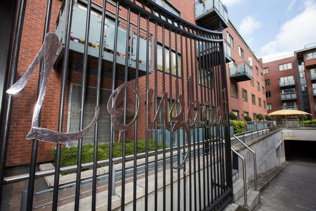 Labour Minister Kevin Humphreys has asked gardai to investigate the Longboat Quay complex (pictured)