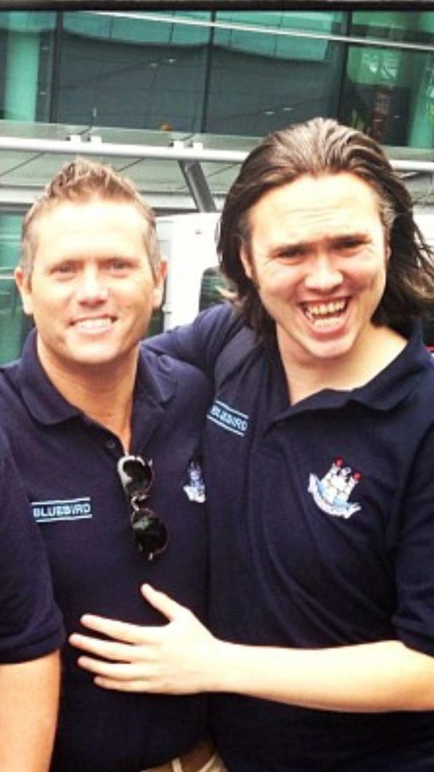 Brothers Alan (left) and Stephen Harris died in a work accident