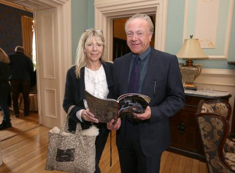 Patrick Guinness with his wife Louise