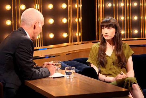 Ray D'Arcy with Niamh Ni Dhomhnaill