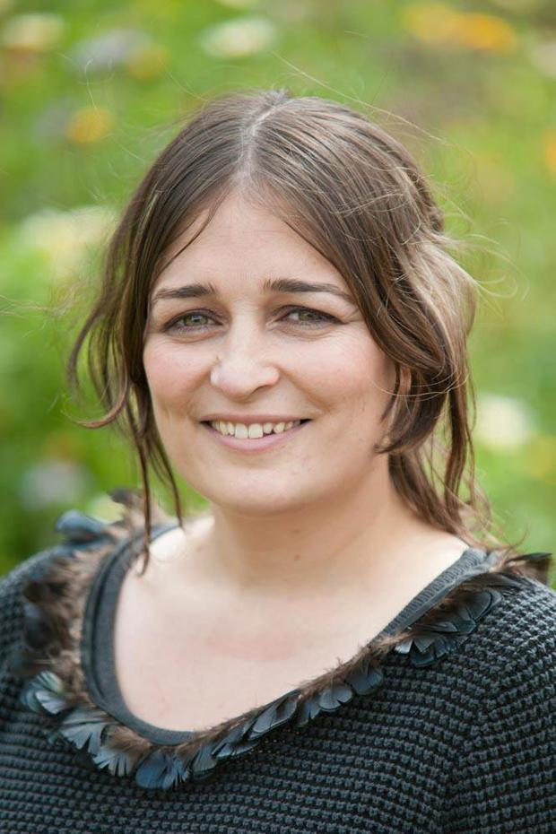 Tracey Ryan who is helping refugees in Calais
