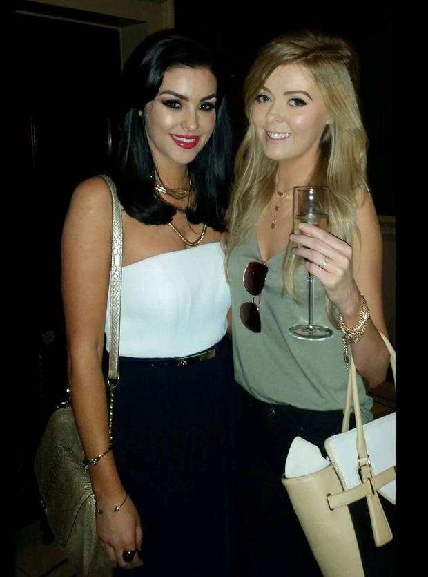 Emma Kenny with blogger Suzanne Jackson