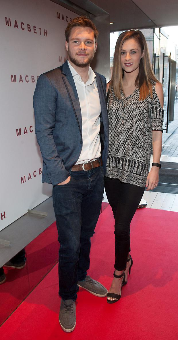 Jack Reynor and Madeline Mulqueen pictured at the preview screening of Macbeth at the Light House Cinema, Smithfield. Pic Patrick O'Leary NO REPRO FEE