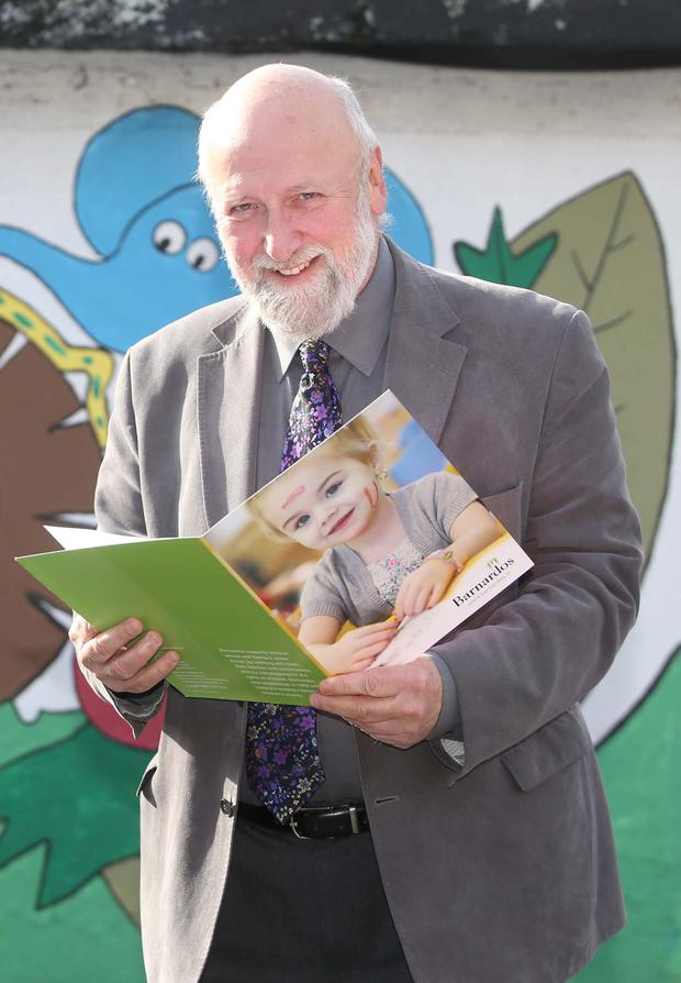 29/09/2015. Barnardos - Rise Up. Pictured CEO Barnardos Fergus Finlay at the launch the Barnardos Rise Up Campaign. Barnardos objectives are calling for immediate action in five crucial areas which would not only demonstrate political commitment to end child inequality, but would result in real improvements to childrens lives. Photo: Sam Boal/Rollingnews.ie
