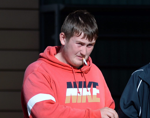 Aaron Reville is accused of stealing children's toys from Tesco