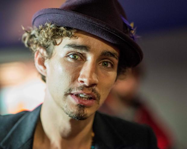 Actor Robert Sheehan