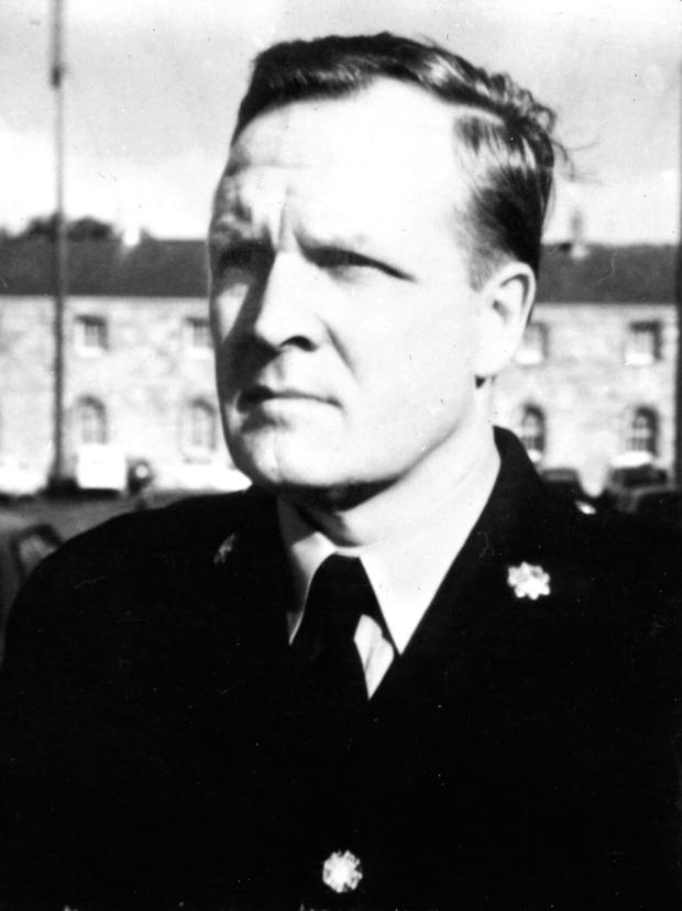 The late Garda Morrissey