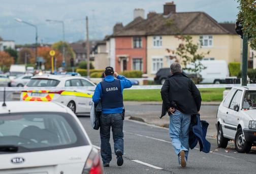 Cashel Road stand-off with gardai