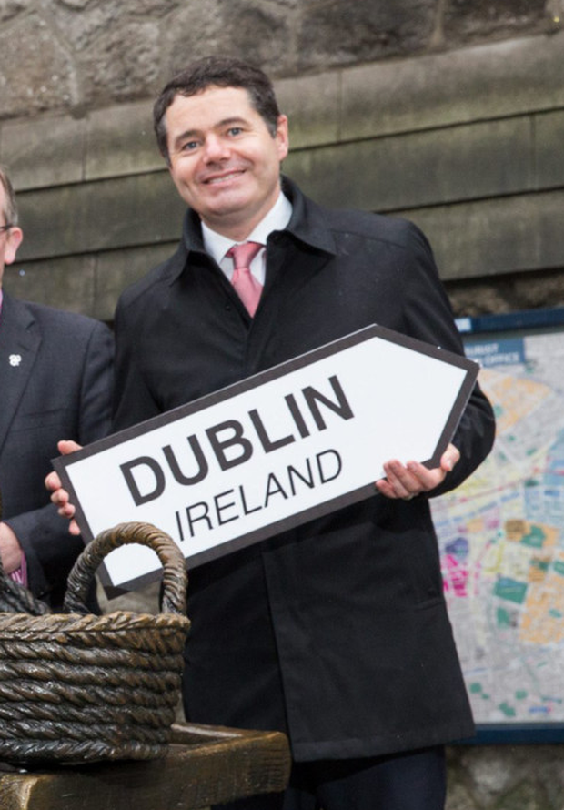 Paschal Donohoe at the Visit Dublin launch