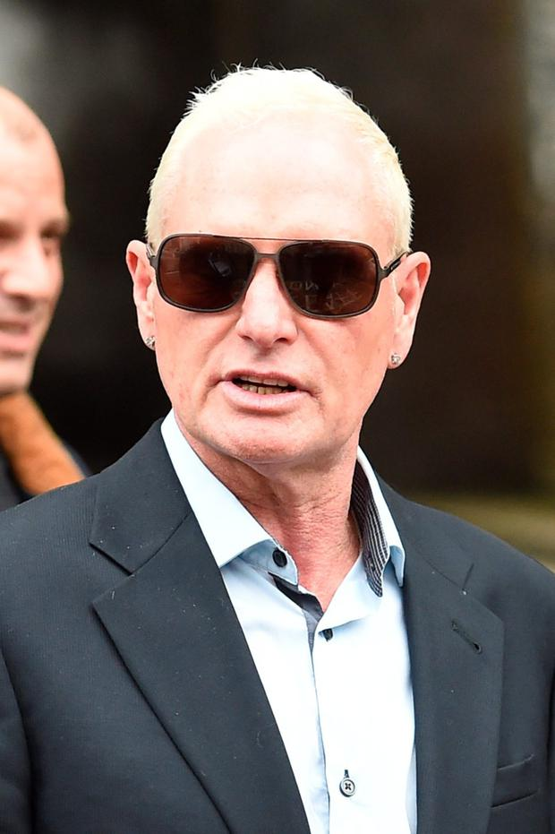 Former footballer Paul Gascoigne has admitted harassment