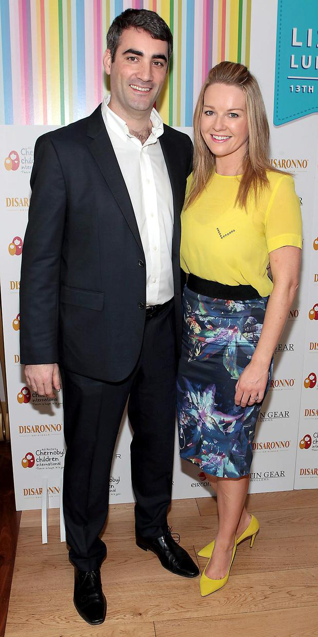 Gerry Scollan and Claire Byrne