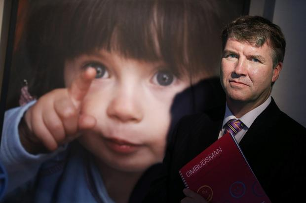 Ombudsman for Children Dr Niall Muldoon at the launch of the report