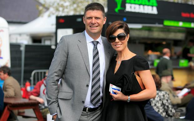 Niall Quinn and Gillian Quinn
