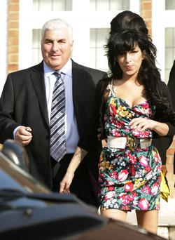 Amy Winehouse and her father Mitch.
