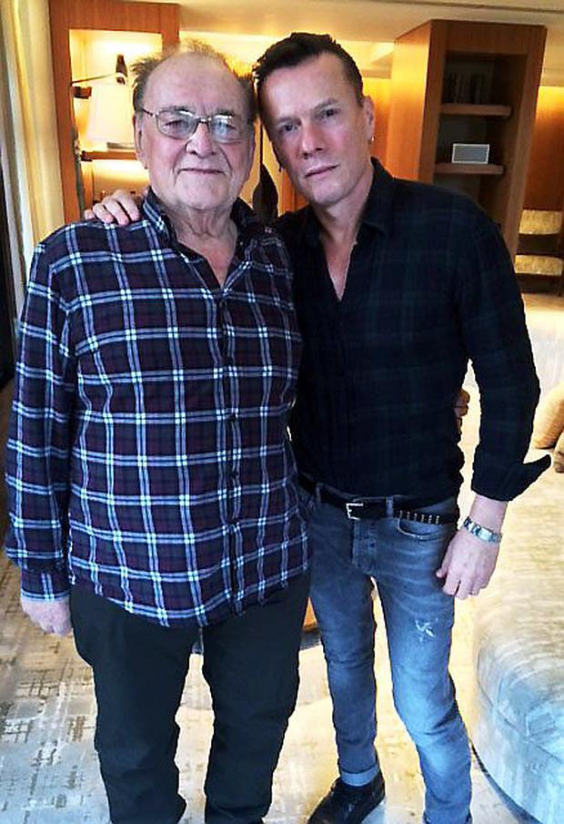 Larry Gogan and Larry Mullen