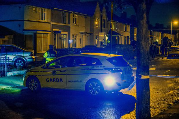 Gardai cordon off KIllala Road, Cabra.