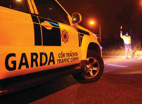 A garda checkpoint. File picture
