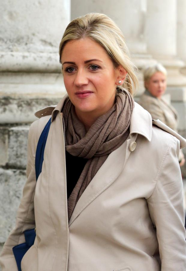Cassandra Reddin at court