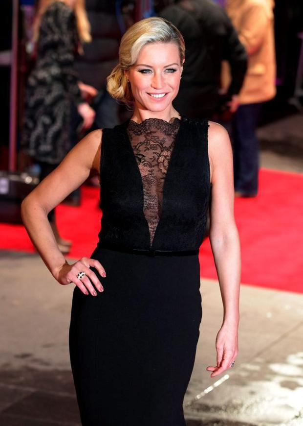 Denise Van Outen said the wildest nights out she ever had were in Dublin