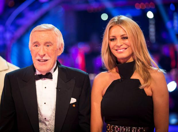 Bruce Forsyth and Tess Dal