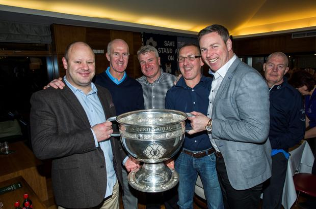 Vinny Murphy, Paul Clarke, Charlie Redmond, Mick Deegan and Paul Bealin.
