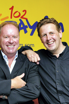 Ian Dempsey and Tony Fenton