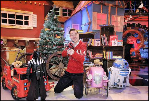 Late Late Toy Show host Ryan Tubridy