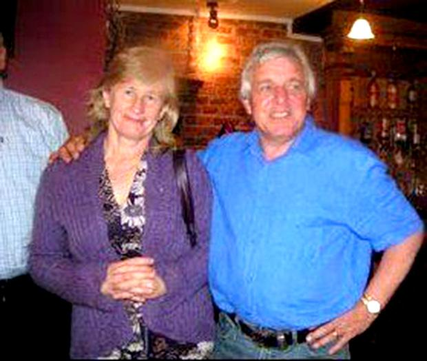Marian and Dan O'Mahony who were attacked in their home in Mayfield, Cork